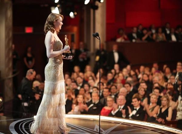 Emma ganhou o Oscar de melhor atriz (Christopher Polk)