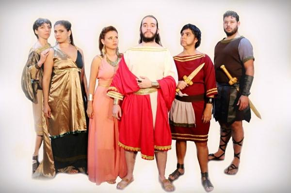 'La clemenza di Tito' transporta o espectador para a Roma antiga a fim de desvendar uma tentativa de assassinato  (Karol Kanashiro/Divulgação)