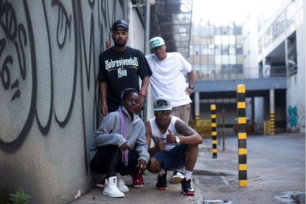 Grupo de rap Sobreviventes de Rua (SDR) (Sobreviventes de Rua/Divulgação)
