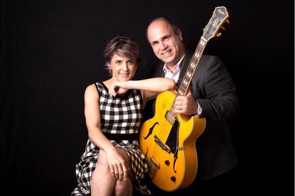 Duo formado por Cris Delano e Nelson Faria se apresenta em Brasília (Arquivo Pessoal/Divulgação)