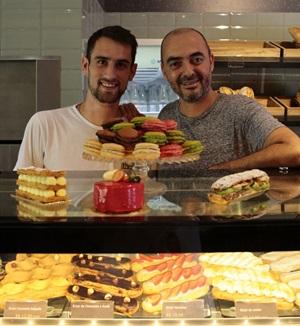 Remi Champion e Serge Segura são a dupla responsável pelos pães e doces que saem na L%u2019amour du pain ( Ana Rayssa/Esp. CB/D.A Press)