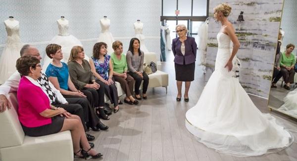O vestido ideal é sucesso entre noivas e está na 14ª temporada. Agora ele vai sair de Nova York e acompanha uma loja no Canadá (Divulgação)