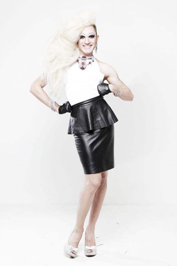 A drag queen Aretuza Lovi fará show na boate Victoria Haus, hoje às 22h30 (João P. Teles/Divulgação)