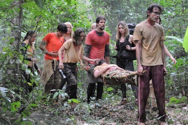 A série nacional Sem volta foi inspirada no sucesso 'Lost'. (Munir Chatack/Divulgação)