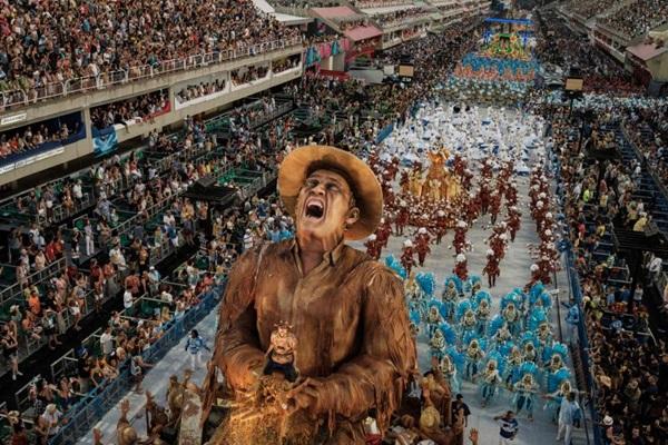 Homenagens à campeã do carnaval do Rio de Janeiro ocorrem neste sábado, no Espaço Cultural do Choro. (Yasuyoshi Chiba)