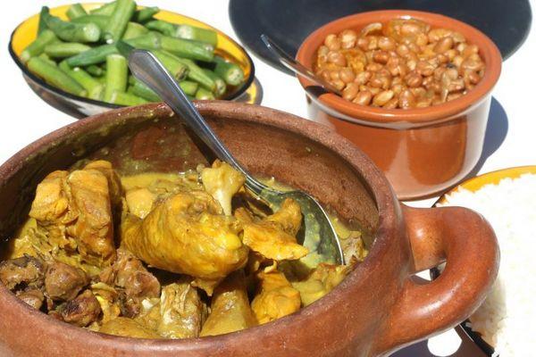 Restaurantes fora do plano. Prato galinhada e picanha do Bar do Neguinho em Brazlandia (Rodrigo Nunes/Esp. CB/D.A Press)