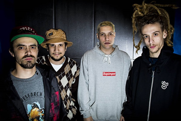 Depois do Lollapalooza, em São Paulo, o quarteto Haikaiss chega em Brasília este sábado (Bruno Santos/Folhapress)