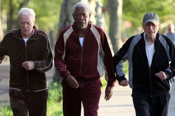 Morgan Freeman, Michael Caine e Alan Arkin estreiam a comédia 'Despedida em grande estilo'  (Reprodução/Internet)