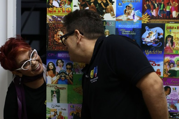 A trupe de Neia & Nando prometem animar a criançada no shopping Pátio Brasil (Fábio Setti/Esp. CB/D.A Press)
