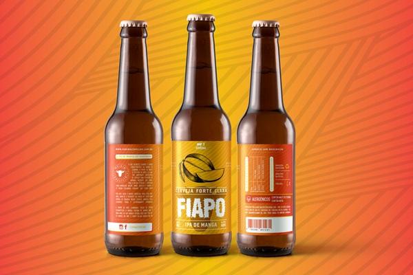 Cerveja Fiapo, IPA de manga da Corina  (Divulgação/Corina Cervejas Artesanais )