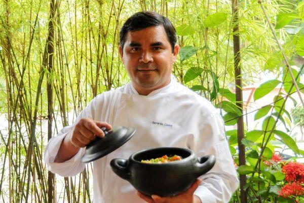 'Enfeitiçado': Gerardo Costa trocou cozinha internacional pela brasileira na bucólica Vila Planalto  (Bárbara Cabral/Esp. CB/D.A Press)