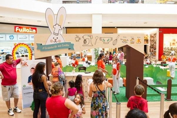 Com uma pegada mais saudável, o JK Shopping promove a Horta do Senhor Coelho (Telmo Ximenes/Divulgacao)