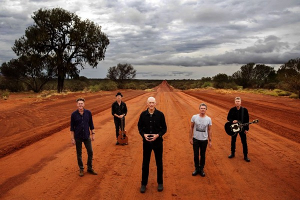 Banda australiana Midnight Oil se apresenta no Net Live (Oliver Eclipse/Divulgacao)
