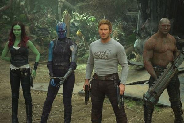 'Guardiões da galáxia vol. 2' mantém o tom bem-humorado do primeiro filme (Film Frame/Marvel Studios)