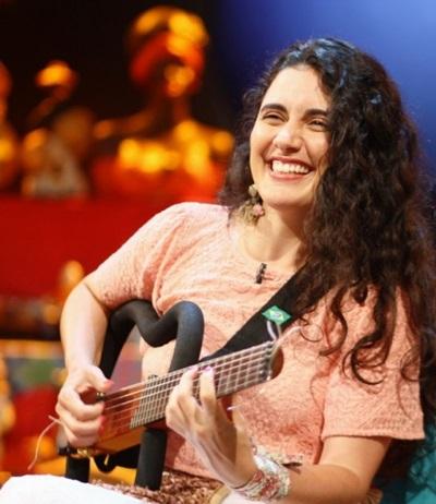 A cantora é Ana Paula da Silva é uma das atrações do final de semana da cidade (Daniel Kersys/Divulgação)