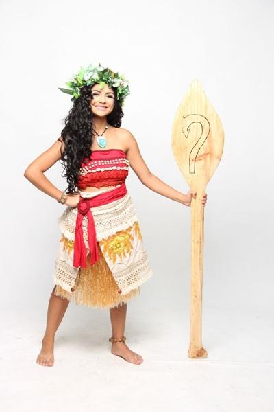 Moana vai sair das telonas para os palcos em 'Uma aventura no mar'  (Paky Produções/Divulgação)