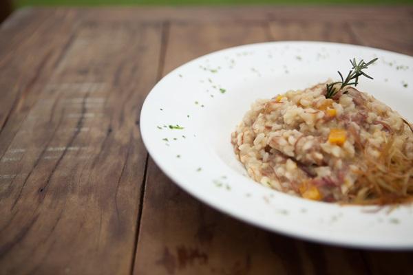 Risoto de carne seca com abóbora (Raquel Pelicano )