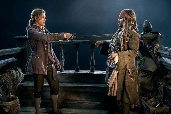 As cenas de ação são as mais esperadas em 'A vingança do Salazar' (Reprodução/Peter Mountain)