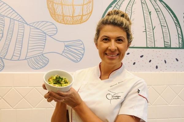Vanessa Prado ensina que abacate não é um vilão na perda de peso (Barbara Cabral/Esp. CB/D.A Press)