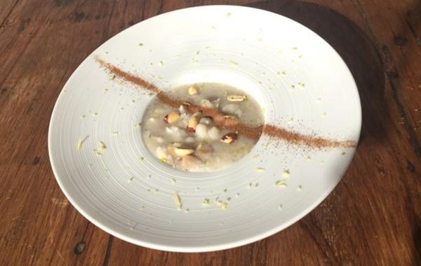 Canjica com milho branco, coco e leite de inhame da Bálsamo Congelados Saudáveis (Divulgação / Lambada Comunicação)