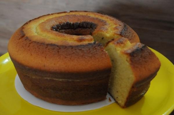 O bolo de fubá com erva-doce da Delícias da Paula é uma opção para a época (Barbara Cabral/Esp. CB/D.A Press)
