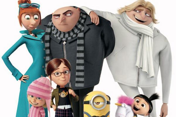 Gru e seus familiares tomam espaço dos Minions na película (Reprodução/Internet)