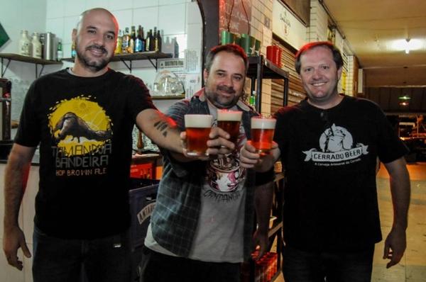 Cerrado Beer e 400Quatrocentos: parceria entre produtores e chefs (Bárbara Cabral/Esp. CB/D.A Press)