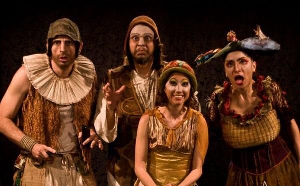 O potiguar Grupo de Teatro Clowns de Shakespeare estará em cartaz com 'Abrazo' (Palco giratório/Divulgação)