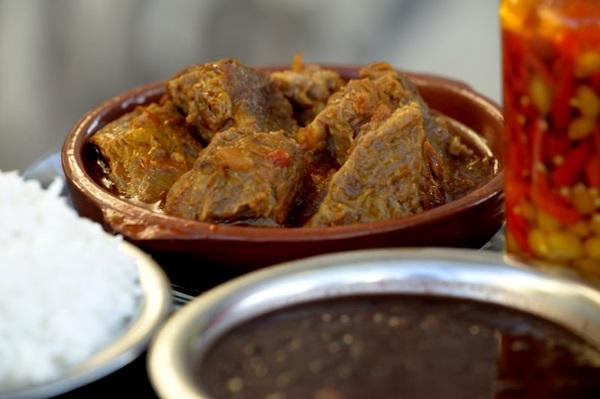Há 35 anos na cidade, o Bar do Amigão aposta na carne cozida como uma opção com a cara da roça (Carlos Vieira/CB/D.A Press)