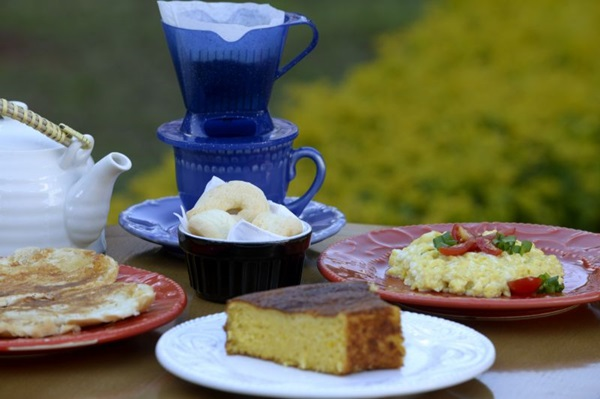 Produtos fresquinhos são servidos no Vó Iá Café (Carlos Vieira/CB/D.A Press)