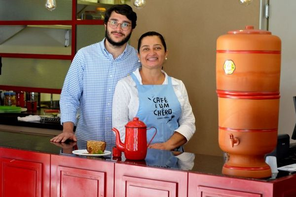 De mãe para filho: cozinha familiar pauta receitas do Café e um chêro (Antonio Cunha/CB/D.A Press)