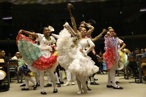 A quadrilha junina Formiga da Roça é uma das que se apresentaram no Festival Brasília Junina (Antonio Cruz/EBC/FotosPúblicas)