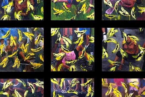 Exposição abrange diversas linguagens: de gravura digital e pintura a bordado  (Arquivo Pessoal/Divulgação)