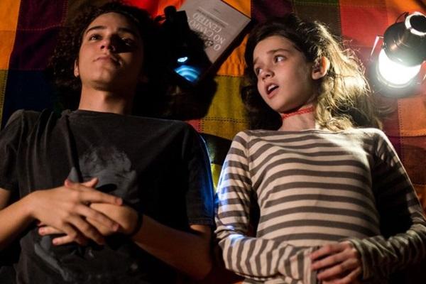 Diogo e Mariana sofrem com a separação dos pais  (Vitrine Filmes/Divulgação)