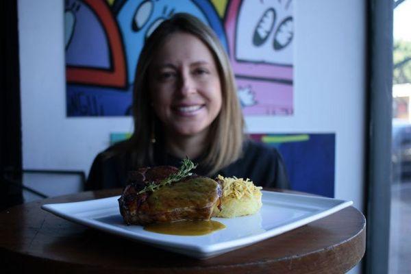 Dani Goulart: personal chef criou cardápio regional criativo para o Ziriguidum (Ana Rayssa/Esp. CB/D.A Press)