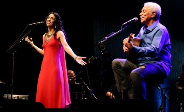 Marisa Monte e Paulinho da Viola viajam o país em turnê juntos (Arquivo Pessoal/Divulgação)