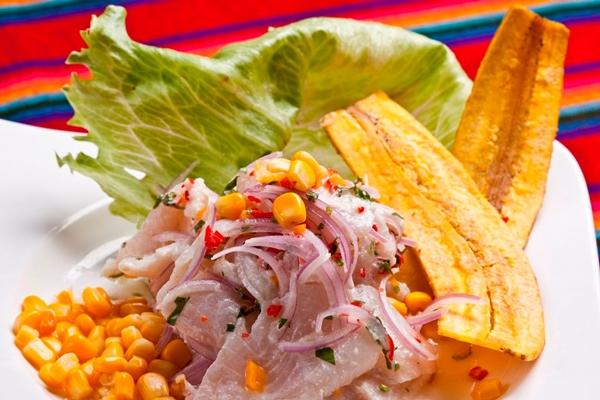 Ceviche clássico, uma das receitas do bufê especial que será montado no El Paso da 404 Sul  (Telmo Ximenes )