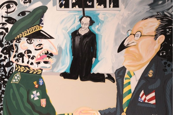 A resistência artística é um dos temas de 'Não matarás' (Museu Nacional/Divulgacao)