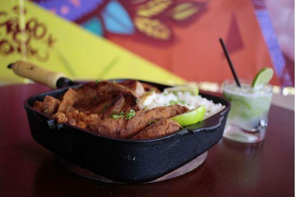 Aberto há uma semana, Tieta celebra receitas e bebidas tipicamente tupiniquins (Ana Rayssa/Esp. CB/D.A Press)