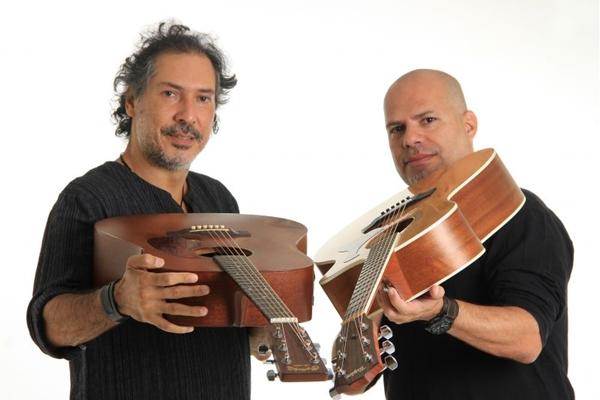 A dupla Duo Mandrágora promete agitar a noite no Empório Musical  (Jandir Ribeiro/Divulgação)