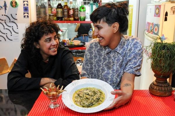 Patrícia Egito e Mariana Miranda: Norte é referência  no Jamburanas (Bárbara Cabral/Esp. CB/D.A Press)