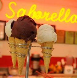 Queridinho pelos brasilienses, sorvetes de tapioca e de açaí foram opularizados em Brasília por marcas como a Saborella (ARTHUR MENESCAL/ESP.CB/D.A PRESS)