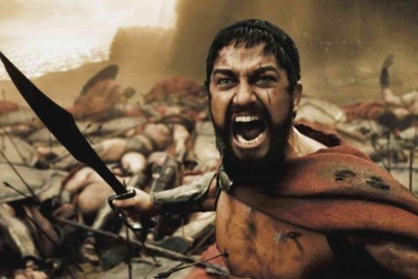 Gerard Butler é a estrela de 300 ( Warner Bros. Pictures/Divulgação)
