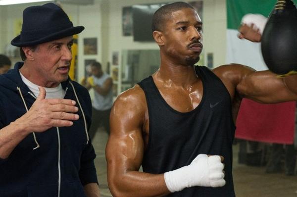 Rocky Balboa regressa ao mundo do boxe e treina Adonis Creed (Reproducao da Internet)