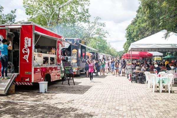 Serão 28 food trucks e várias atrações musicais durante o fim de semana (Ana Pinheiro/Divulgação)
