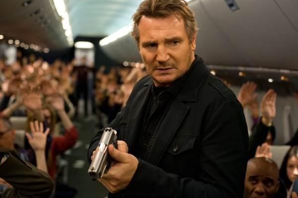 Liam Neeson é a estrela de 'Sem escalas' (Reprodução/Internet)