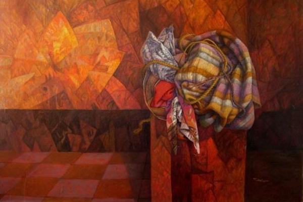 Exposição A herança e a indagação dos enigmas mostra traços fantásticos do surrealismo ( Arquivo Pessoal/Divulgação)