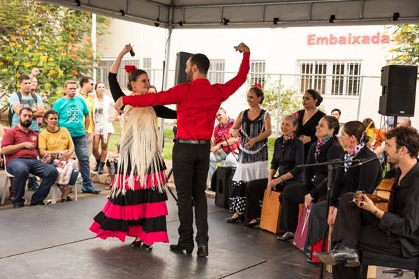 A apresentação de Flamenco é a atração do Instituto Cervantes ( Vitor Schietti/Divulgação)