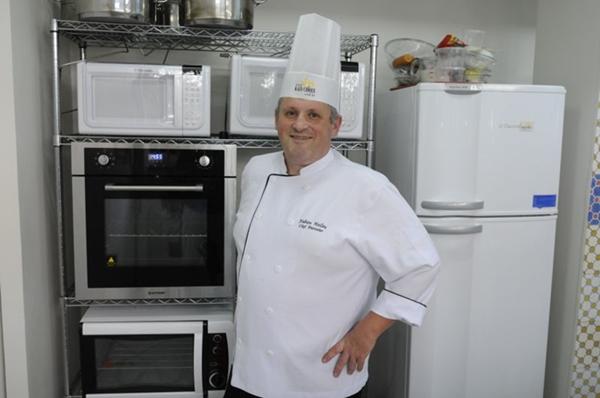 Fabien Helleu ensinará uma receita de quiche lorraine (Carlos Moura/CB/D.A Press)