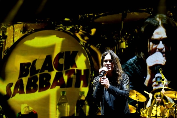 'Black Sabbath - The end of the end' mostra a turnê de despedida da banda Black Sabbath foi  (AFP/GETTY IMAGES NORTH AMERICA/Frazer Harrison)